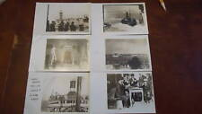 1920 President Wilson Light House Italy Post Cards RPPC