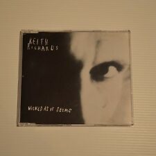 KEITH RICHARDS - Wicked as it seems - 1992 2-TRACK CDSingle