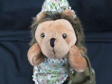 Potbelly Hedgehog Flower Dress Baskets Granny Plush Stuffed Animal Toy