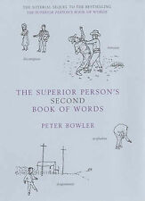 The Superior Person's Second Book of Words, Peter Bowler, New Book