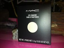 "MAC Eye Shadow REFILL  "" SHROOM "" NEW IN BOX authentic from mac stores"