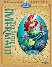 The Little Mermaid (Blu-ray/DVD, 2013, 2-Disc Set, Diamond Edition Includes Digital Copy)