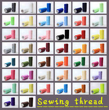 New 44 Colors 100% Polyester Standard Sewing thread each thread 200 Meters pick