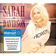 SARAH DAVIDSON [WALMART-EXCLUSIVE CD, 2014] NEW Private Lives of Nashville Wives