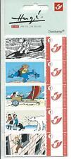 "Belgium**TINTIN ""In Danger"" Booklet 5 Duostamps-Polar Bear-KUIFJE-2007-MNH"