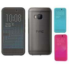 Genuine HTC ONE M9 Dot View HC M232 FLIP CASE Mobile original cell phone cover 2