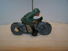 Composition Toy Motor Cycle Wwii Soldier