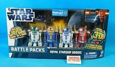 Royal Starship Droids 4-Pack Star Wars Battle Pack 2011 Hasbro New Walmart Exc.