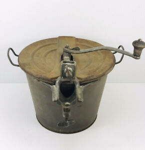 Vintage  Universal Bread Maker Hand Crank Dough Mixer butter churn