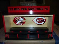 Reds display case for bobbleheads  Dugout style  75 Big Red Machine 76