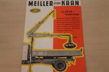 177877) Meiller Hydro Kran AR 600 Prospekt 195?