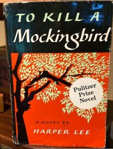 To Kill a Mockingbird, by Harper Lee, 1st edition hardcover