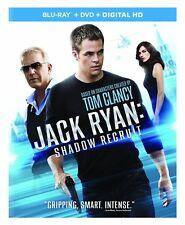 Jack Ryan: Shadow Recruit Blu-ray/DVD, 2014, 2-Disc Set NEW
