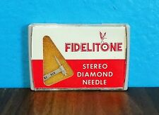 NOS Fidelitone A-535DS Diamond Phono Needle BSR ST-9 Free Shipping