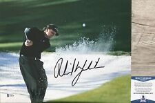 LEFTY!!! Phil Mickelson MASTERS Signed PGA 11x14 Photo #1 Beckett BAS
