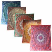 Königselefanten Paisley Tagesdecke-Wandbehang-Dekotuch - div. Farben 210x240