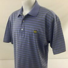 Amen Corner The Masters Augusta National Polo Golf Shirt Purple Pima Cotton XL