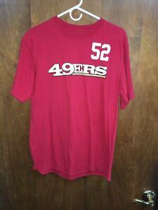 Reebok NFL San Francisco 49ers Patrick Willis Jersey T-shirt Size L