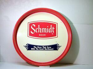 SCHMIDT Beer Serving Tray, G. Heileman Brewing Co., La Crosse and Others