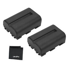 2x NP-FM500 Battery + Bonus for Sony Alpha SLT-A58 A57 A99 A100 A560 A580