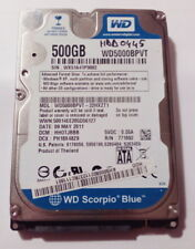 Disque Dur / HDD WD WD5000BPVT - 500 Go - SATA 2 - 2.5' - 5400RPM - HORS SERVICE
