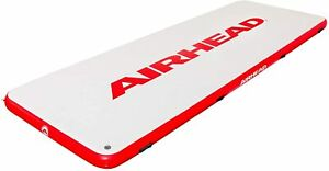 Airhead Watermat Air Dock, Inflatable and Holds Over 2000 Pounds / 12 Person