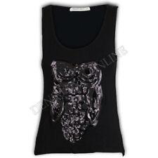 Camisas y tops de mujer de color principal negro talla S sin mangas
