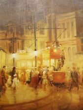London Street Scene by W. Ashwood Artwork by Selby Prints