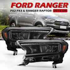 VLAND LED Projector Headlights Fit Ford Ranger PX MK2 2015-2020 Wildtrak Raptor