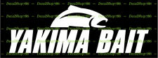 YAKIMA Fishing Baits -Outdoor Sports- Car/SUV Vinyl Die-Cut Peel N' Stick Decals