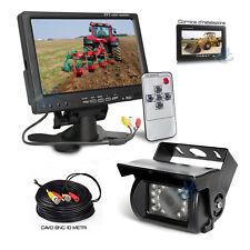 """Kit Retromarcia Monitor 7"""" e Telecamera posteriore per Camion Trattore Cavo 10MT"""