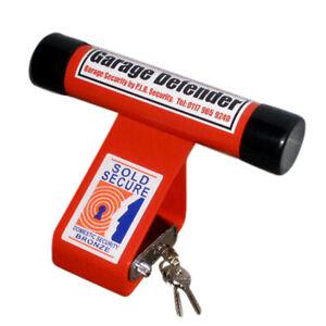 PJB 302 Garage Defender - 12mm Shackle Hole RED