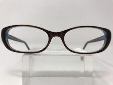b48d34ebce Elizabeth Arden Eyeglasses 52-17-140 Brown Crystal Blue D909