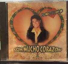 ROBERTO VERDUZCO - CON MUCHO CORAZON - 10 TRACK MUSIC CD - BRAND NEW - E847