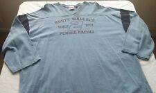 """Brand new vintage Chase Authentics brand, """"Rusty Wallace"""" pullover in size XXL"""
