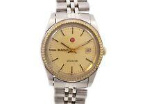Vintage Rado Voyager Date Automatic Stainless Steel Ladies Petite Watch 787