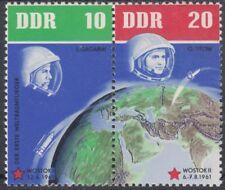 DDR Zusammendrucke aus Klb. 926-33 (Weltraumflüge) zur Auswahl ** (VB-20)