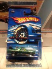 2006 Hot Wheels * 69 El Camino * Green 5 Spoke Collector #171