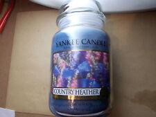 Yankee Candle Usa Rare Country Heather Large Jar