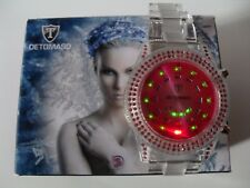Montre DETOMASO Femme SPACY TIMELINE LADY A LED BINAIRE avec DATE. 98,00 € NEUVE