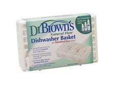 Dishwasher Rack Basket Dr Brown's Standard Baby Bottle Sterilizer Steriliser NEW