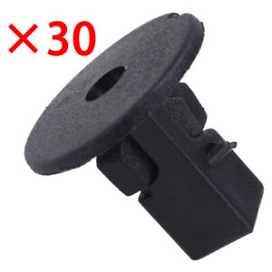 30x Screw Mounting Grommet Trim Clip Wheelarch Inner Guard Bumper fit for Toyota