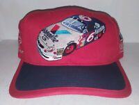 Vintage Embroidered Valvoline Eagle One Racing Red Baseball Nascar Hat Cap