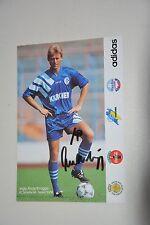 Ingo Anderbrügge Schalke 04 1995/96 handsigniert