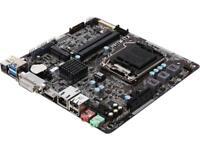 ASRock H81TM-ITX R2.0 LGA 1150 Intel H81 HDMI SATA 6Gb/s USB 3.0 Mini ITX Intel