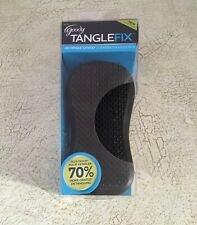 New Goody Tangle Fix Hair Brush In Silver Black Detangles Gently Hand Held Easy