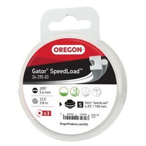 Oregon 3 Pack of Gator SpeedLoad Trimmer Line Disks, .095 Diameter (24-295-03)