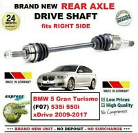FOR BMW 5 Gran Turismo (F07) 535 550 xDrive 2009-2017 REAR AXLE RIGHT DRIVESHAFT