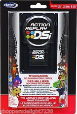 Datel Action Replay DS, DS Lite and Dsi  Cheat Codes - New and Sealed