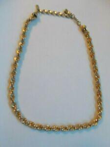 Cadena Delgada De Oro Cuerda de metales mezclados Diseño de 18 pulgadas